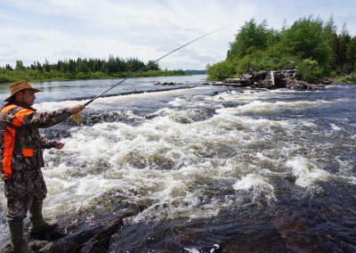 Newfoundland Salmon Fishing